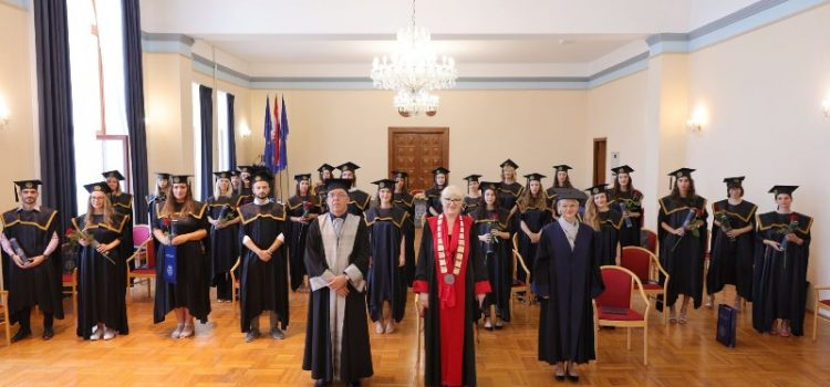 SVEUČILIŠTE U ZADRU Promovirano 90 magistrica i magistara
