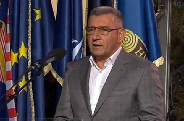 Gotovina u Kninu: Zajedništvom smo izgradili Hrvatsku vojsku i obranili se