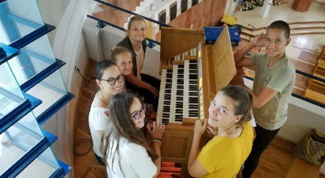 Koncert i izložba polaznika Kreativnih radionica Zadar Organ Festivala