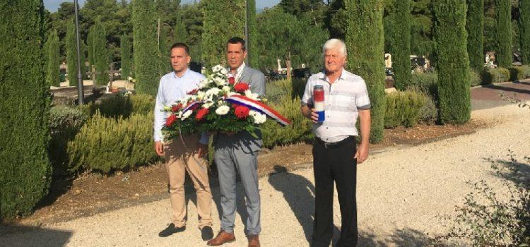 Općinsko vodstvo odalo počast petorici poginulih hrvatskih branitelja iz Bibinja