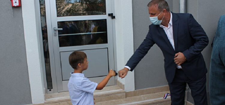 Gradonačelnik Dukić obišao zadarske škole povodom prvog dana nastave