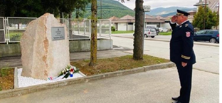 Obilježena 29. obljetnica pogibije hrvatskog redarstvenika Tomislava Brkića