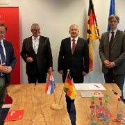 Baričević u Berlinu dogovorio suradnju Zajednice općina i Udruge poduzetnika