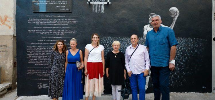 Obnovljen koš Krešimira Ćosića u Zadru – mjesto početka karijere košarkaškog velikana