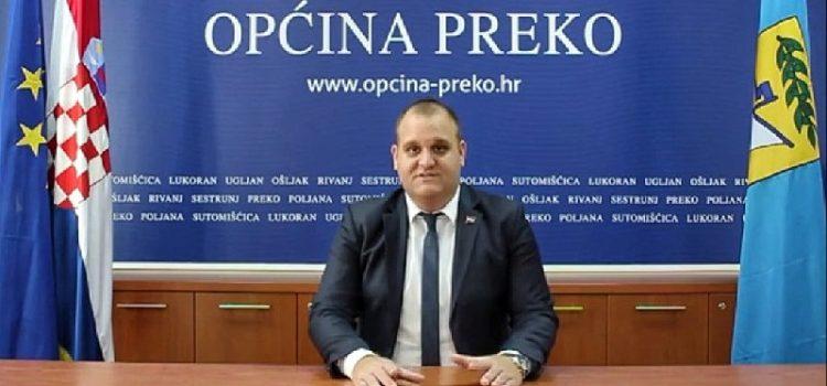 VIDEO Načelnik Općine Preko Jure Brižić čestitao mještanima Dan općine i blagdan Sv. Mihovila