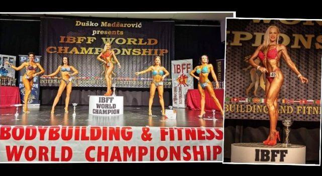 USPJEH Zadranka Vanja Tokić prva na Svjetskom prvenstvu u bodybuildingu