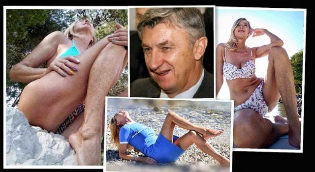 Vremešna Fejs 'zvijezda' Vesna Benić štiti župana Longina i reklamira međunožje