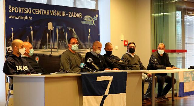 Predstavljen projekt snimanja spota navijačke pjesme 'Zadar je najbolji, Zadar je slavan'…