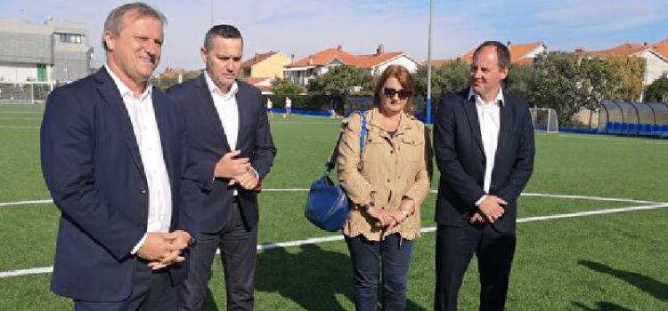 Višnjik i Stanovi dobili dva moderna nogometna igrališta