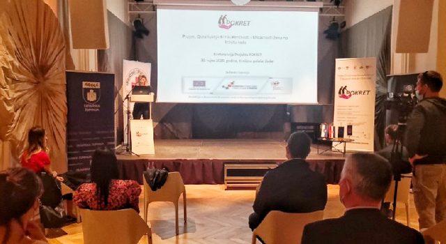 U Kneževoj palači održana konferencija o konkurentnosti i efikasnosti žena na tržištu rada