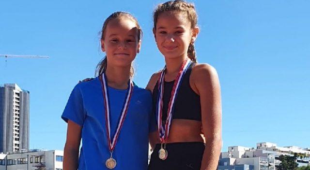 Mlade atletičarke Ariana Tabak i Natali Barišić osvojile tri medalje