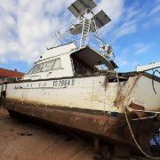 Uspješno uklonjene dvije brodske olupine iz luke Mrljane