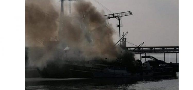 Gorjelo na brodu plivarici u vlasništvu generala Gotovine