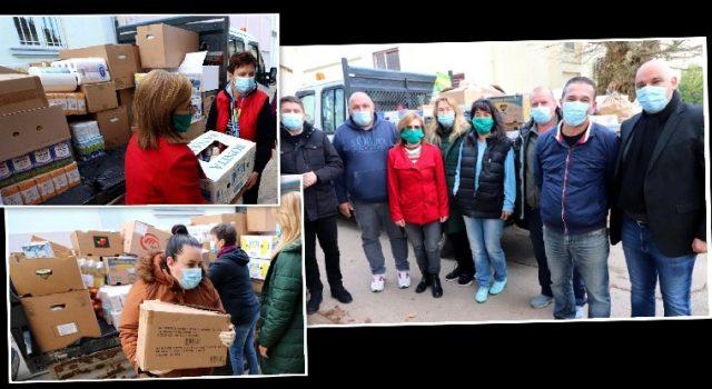ZA LJEPŠI BOŽIĆ Virani donirali 6 tona hrane i potrepština za siromašne građane