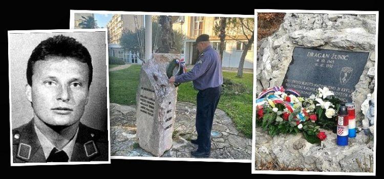 """ODALI POČAST KOLEGI Prije 28. godina na Velebitu ubijen je Dragan Žunić, pripadnik """"Poskoka"""""""