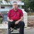 Miodragu Demi, 100-postotnom ratnom invalidu, srušen dom u potresu