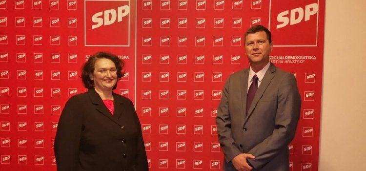 SDP izabrao kandidate za županicu i dožupana Zadarske županije