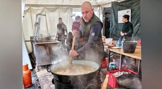 Dario Kapović: Kuhali smo bez prestanka od 8 ujutro do 8 na večer, za tisuće ljudi