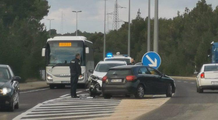 FOTO Prometna nesreća na Jadranskoj magistrali