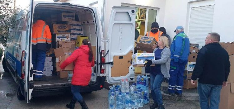 HUMANOST I VELIKO SRCE Virani poslali 11 tona pomoći za stradale u potresu