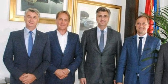 Plenković: Longin i Dukić kandidati su za župana i gradonačelnika, to su dobri ljudi!
