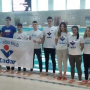 Uspjeh Plivačkog kluba Zadar na natjecanju u Zagrebu