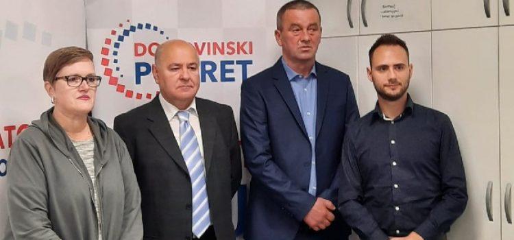 Kandidati Domovinskog pokreta – Klarić za župana, Biloglav za gradonačelnika
