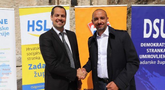 Kapović predstavio kandidate: Skelin za gradonačelnika, Antonio Vučetić za župana