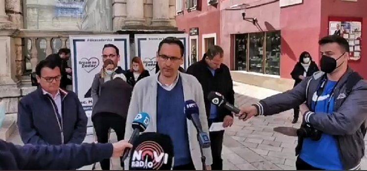 Marko Vučetić: Grad Zadar je najsramotniji grad u Hrvatskoj