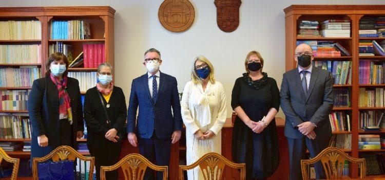 Veleposlanica Portugala posjetila Sveučilište u Zadru