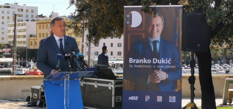 Branko Dukić predstavio predizborni program: 'Za budućnost s osmijehom!'