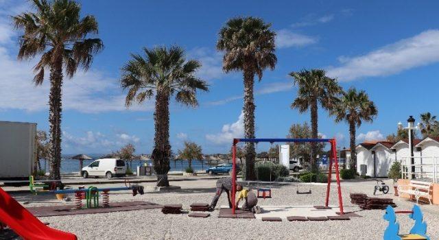 LIJEPA VIJEST Obnovljeno dječje igralište uz plažu Jadro na Viru