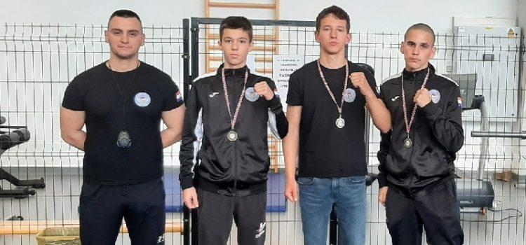 Boksački klub Ares iz Zadra osvojio tri medalje na prvenstvu Hrvatske