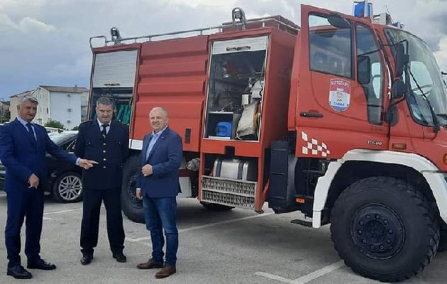 Dobrovoljno vatrogasno društvo iz Jasenica dobilo vatrogasno vozilo