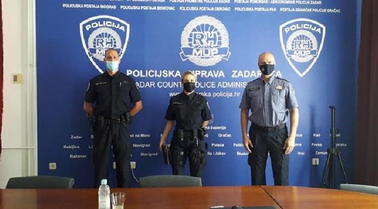 Načelnik Dražina primio najuspješniju na natjecanju – policajku Antoniju Radeljić