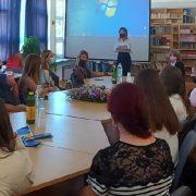 Europarlamentarka Sunčana Glavak posjetila Ekonomsku školu u Zadru