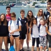 Mladi Zadrani osvojili zlato i broncu na plivačkom natjecanju  u Dubrovniku