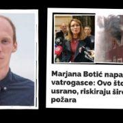 Radeta: Vatrogasci su odradili odličan posao, osuđujem istup Marjane Botić