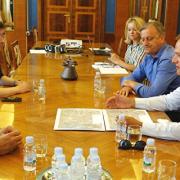 Dukić s državnim tajnika i direktorom APN-a obišao gradilište POS-a na Crvenim kućama