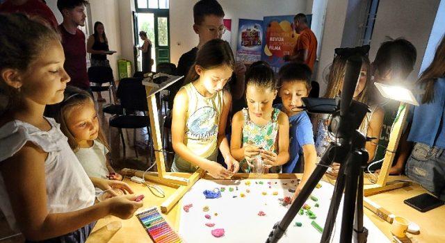 GALERIJA Program za najmlađe na Reviji europskog filma u Bibinjama