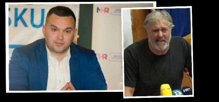 Lukić: Eniju smeta hrvatski grb koji nosim. On je za žderačinu i lokačinu