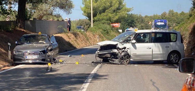 FOTO Teška prometna nesreća na ulazu u Bibinje