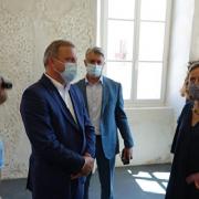 Ministrica kulture boravila u Zadru; Obišla gradilište Providurove palače