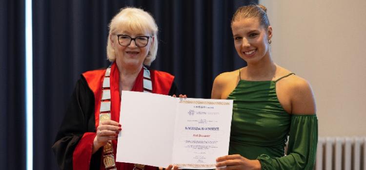 Rektorica Dijana Vican dodijelila nagrade najuspješnijim djelatnicima i studentima