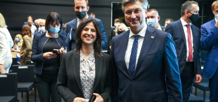 Premijer Plenković na otvorenju 'Centra za kreativne industrije' u Zadru