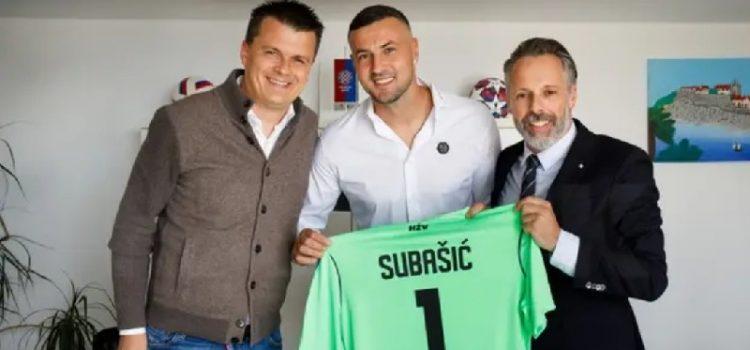 Danijel Subašićpotpisao je za Hajduk do 2023. godine