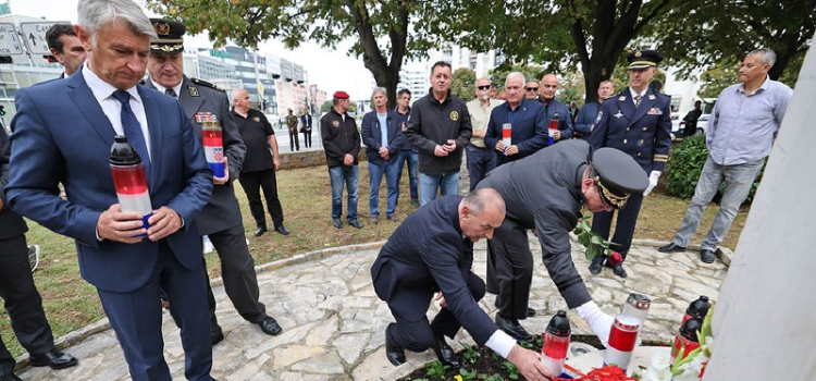 Ministar Tomo Medved u Zadru: Dali ste veliki doprinos u obrani Hrvatske