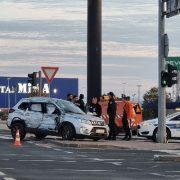FOTO Teška prometna nesreća kod Intermoda