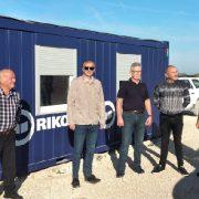 Potpredsjednik Vlade Milošević posjetio gradilište Centra za gospodarenje otpadom Biljane