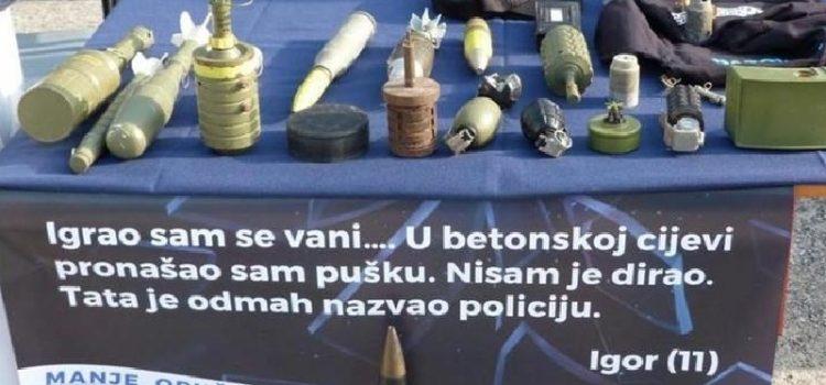 Građani predali policiji veće količine oružja